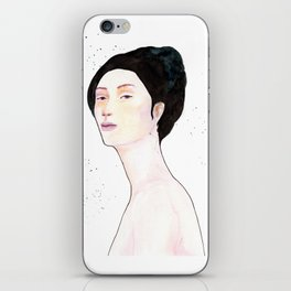 Watercolor - Portrait iPhone Skin
