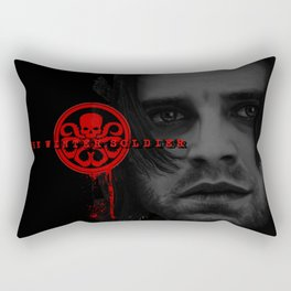 "Bucky Barnes ""The Winter Soldier"" Portrait Rectangular Pillow"