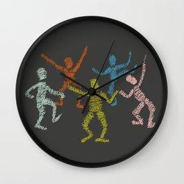 Dance fever Wall Clock