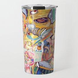 monster of mind ( Renovate work 2008-2016) Travel Mug
