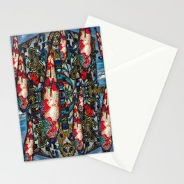 Coy Koi Stationery Cards