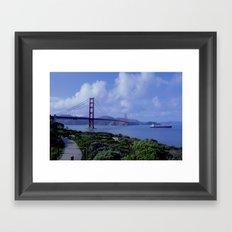 San Francisco Golden Gate  Framed Art Print