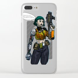 Enforcer Clear iPhone Case