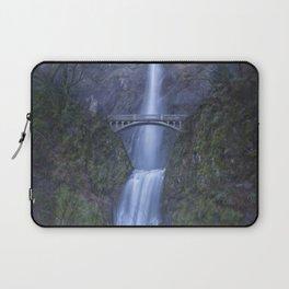 Multnomah Falls, painterly Laptop Sleeve