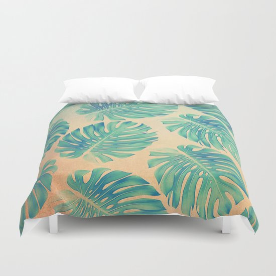 Tropical abstract(2) Duvet Cover