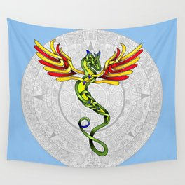Quetzalcoatl Knot Wall Tapestry