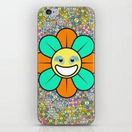 SUPER FLOWER POWER iPhone Skin