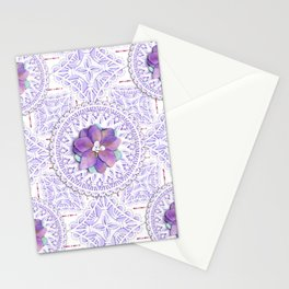 Delphinium Lace Stationery Cards