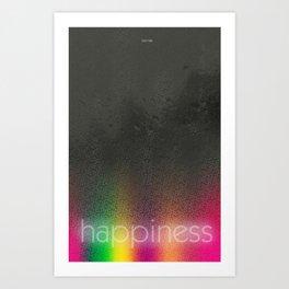 Serotonin/Happiness - Brain Chemistry Series Art Print
