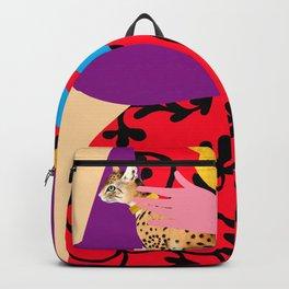 Bethany Cheetah Backpack