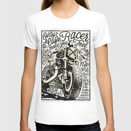 Feel the Road with a Cafe Racer 2 T-shirt