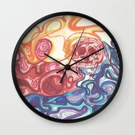 Skull Trip Wall Clock