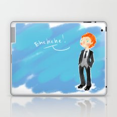 Tom Hiddleston - Ehehehe! Laptop & iPad Skin