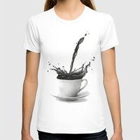 coffe T-shirts featuring Coffee by Thubakabra
