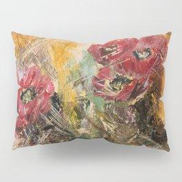 Pink Cactus Flowers Pillow Sham