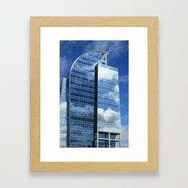 Corporate Heaven  Framed Art Print