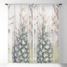 Tropical Trio Sheer Curtain