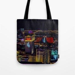 Las Vegas skyline photos Tote Bag