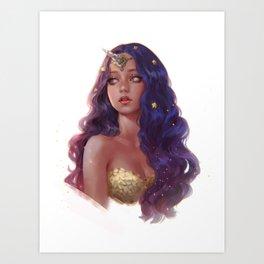 Unicorn Mermaid Art Print