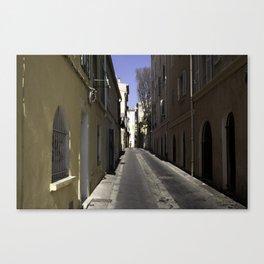 Marseilles Alley Canvas Print