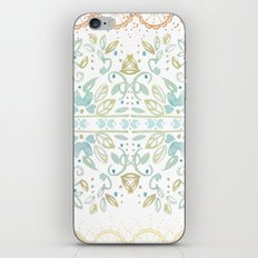 Boho floral iPhone & iPod Skin