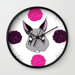 Kvlt Bunny Wall Clock