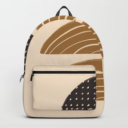 Stacked Rainbow Rocks Backpack