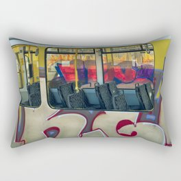 Departure with Ghosts Rectangular Pillow