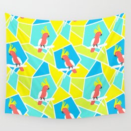 Bright Cockatoo Wall Tapestry