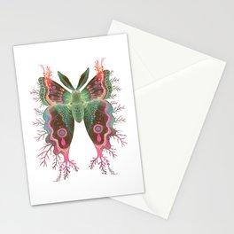 Saturnia danum orbis Stationery Cards