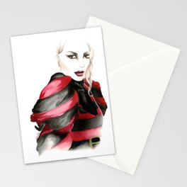 McQueen A/W 2009 Illustration Stationery Cards