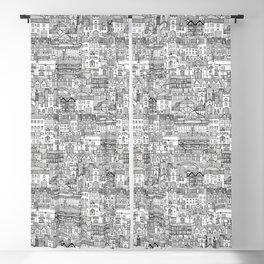 Cambridge toile mono Blackout Curtain