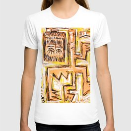 Avec et a Travers by Johnny Otto T-shirt