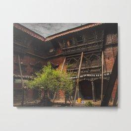 Architecture of Kathmandu City 001 Metal Print