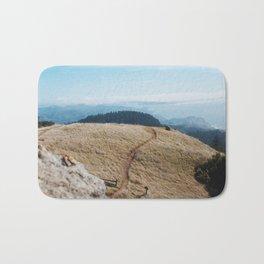 Windswept Day at Mt. Tam Bath Mat