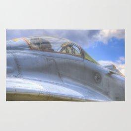 Mig-29B Fighter Jet Rug