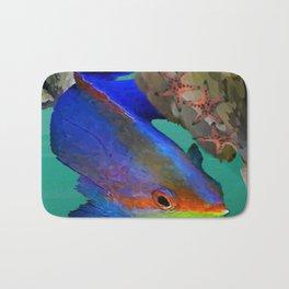 Fishy Business Bath Mat