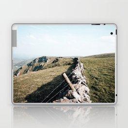 Open field at Winnats Pass Laptop & iPad Skin