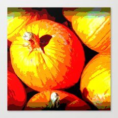 Pumpkin Love Canvas Print