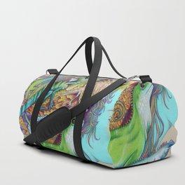 A Tangle Of Lizards, Lizard Art Duffle Bag