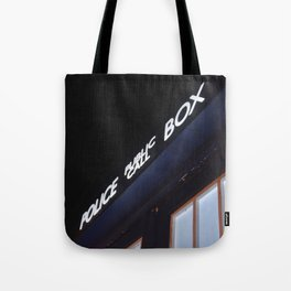 Police call box Tote Bag