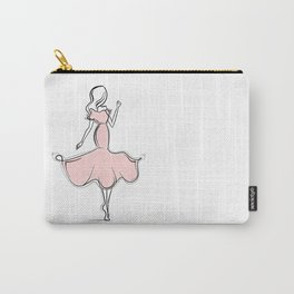Twirly Girly Carry-All Pouch