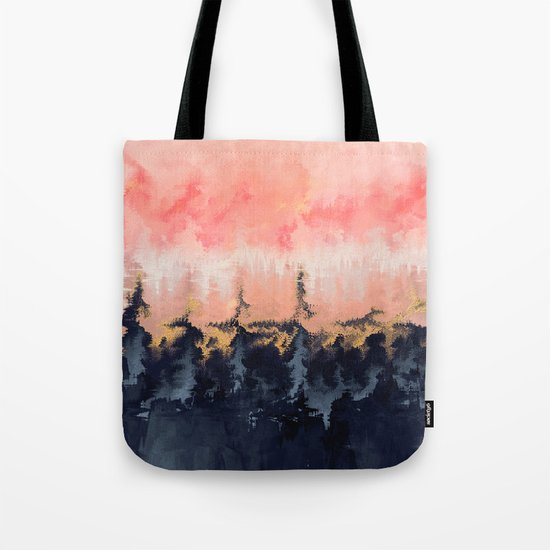 Abstract Wilderness Tote Bag