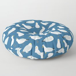 Cute Seagulls Floor Pillow