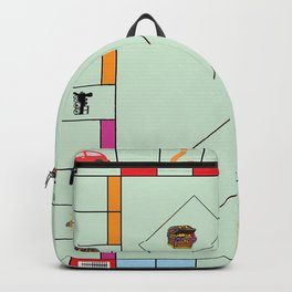 Monopoly Print Currency Game Backpack