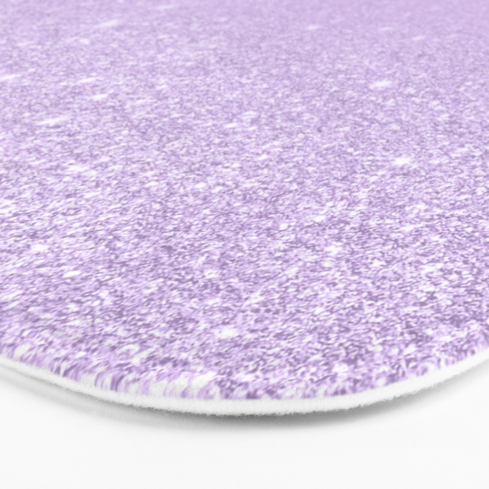 c993794c838ce8 Modern pastel purple lavender ombre glitter color block Bath Mat by  girlytrend | Society6