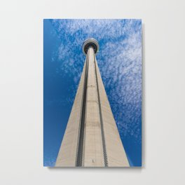 CN Tower, Toronto Metal Print