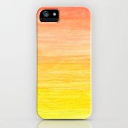 Sunny iPhone Case