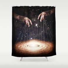 The Greatest Puppeteer Shower Curtain