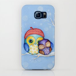 Owl in a Little Red Beret iPhone Case